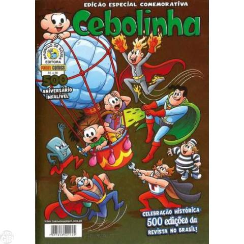 Cebolinha Edição Especial Comemorativa nº 500 fev/2014 - Capa Metalizada