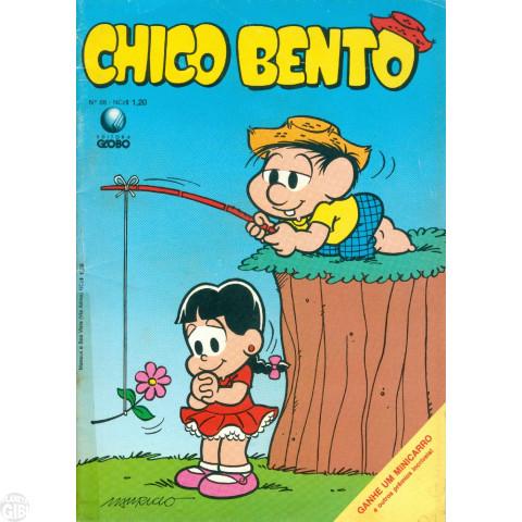 Chico Bento [2ª Série - Globo] nº 068 ago/1989 - Vide Detalhes