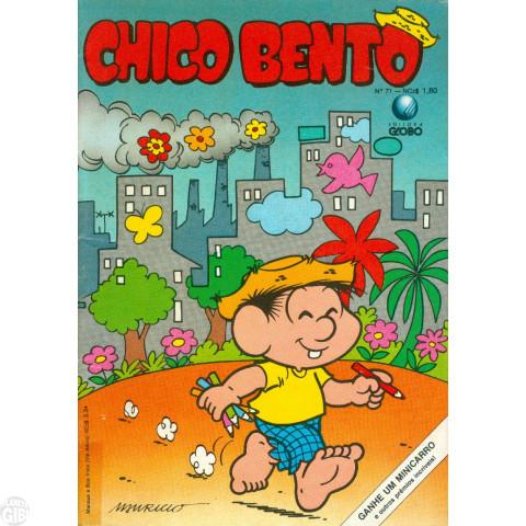 Chico Bento [2ª Série - Globo] nº 071 out/1989 - Vide Detalhes