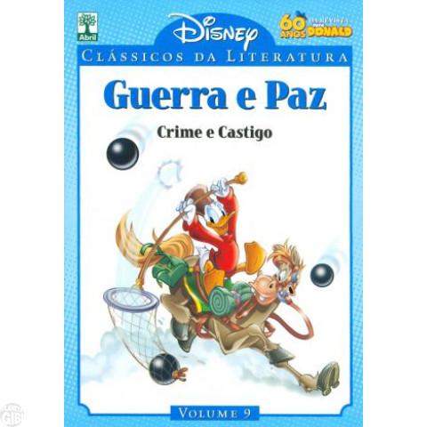 Clássicos da Literatura Disney nº 009 jul/10 - Guerra e Paz