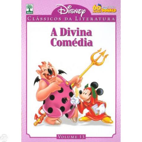 Clássicos da Literatura Disney nº 013 - ago/10 - A Divina Comédia
