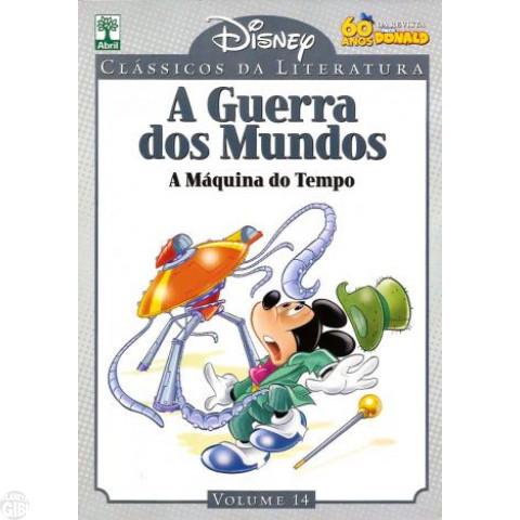 Clássicos da Literatura Disney nº 014 - ago/10 - A Guerra dos Mundos