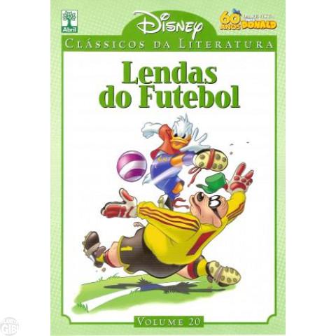 Clássicos da Literatura Disney nº 020 set/2010 - Lendas do Futebol