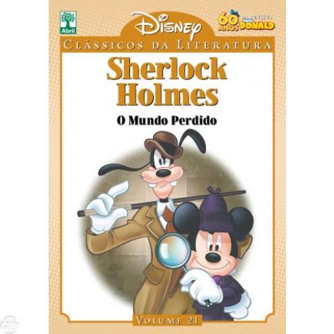 Clássicos da Literatura Disney nº 021 - out/10 - Sherlock Holmes