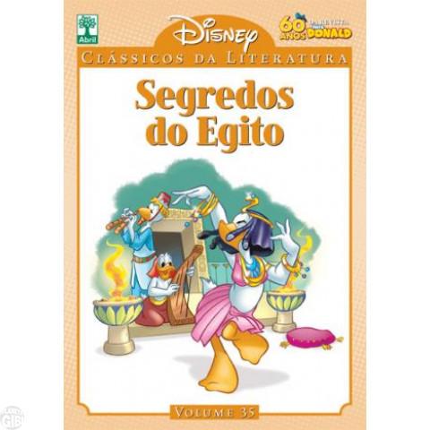 Clássicos da Literatura Disney nº 035 - mar/11 - Segredos do Egito