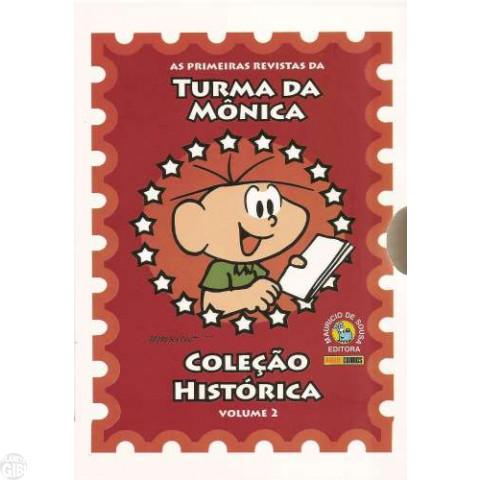 Coleção Histórica Turma da Mônica nº 002 dez/2007 - Box + 5 revistas - Caixa IMPECÁVEL