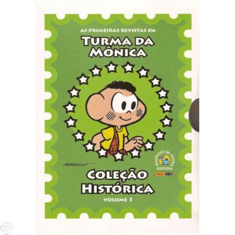Coleção Histórica Turma da Mônica nº 003 mar/2008 - Box + 5 revistas