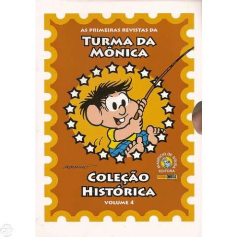 Coleção Histórica Turma da Mônica nº 004 abr/2008 - Box + 5 revistas