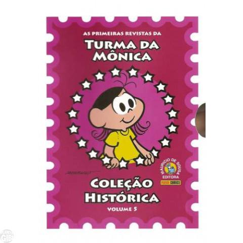 Coleção Histórica Turma da Mônica nº 005 mai/2008 - Box + 5 revistas