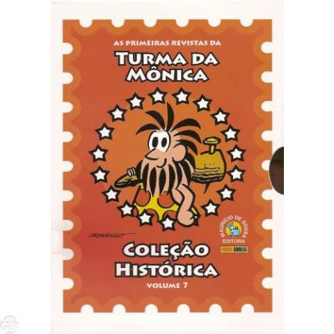 Coleção Histórica Turma da Mônica nº 007 out/2008 - Box + 5 revistas