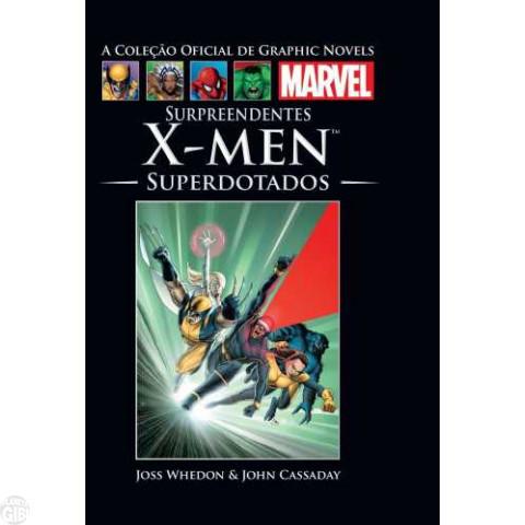 Coleção Oficial de Graphic Novels Marvel [Salvat] nº 036 dez/2013 - Surpreendentes X-Men Superdotados - Capa Dura