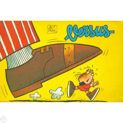 Coleção Quadrinhos de Bolso [RGE] nº 006 1976 - Versus