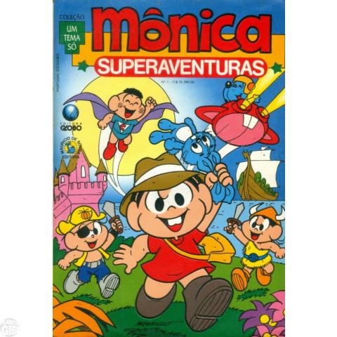 Coleção Um Tema Só [Globo] nº 001 nov/1992 - Mônica Superaventuras