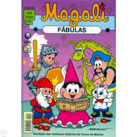 Coleção Um Tema Só [Globo] nº 033 fev/2002 - Magali Fábulas