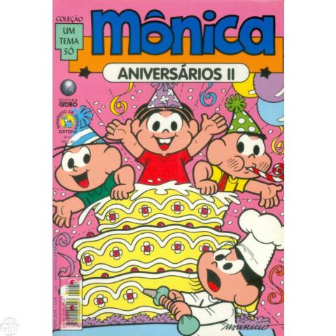 Coleção Um Tema Só [Globo] nº 037 fev/2003 - Mônica Aniversários II