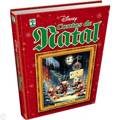 Contos de Natal Por Carl Barks [Disney de Luxo nº 006 - 1ª Edição] out/2015 - Capa Dura - Lacrado