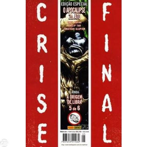 Crise Final Edição Especial nº 005 dez/2009