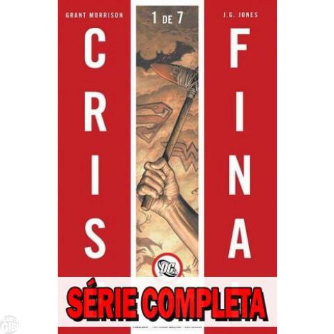 Crise Final - Minissérie - Coleção Completa (série em 7 volumes) 2009-2010