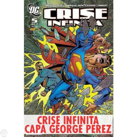 Crise Infinita nº 005 abr/2007 (Capa George Pérez)