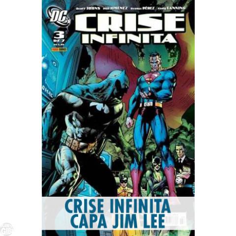 Crise Infinita nº 003 fev/2007 (Capa Jim Lee)