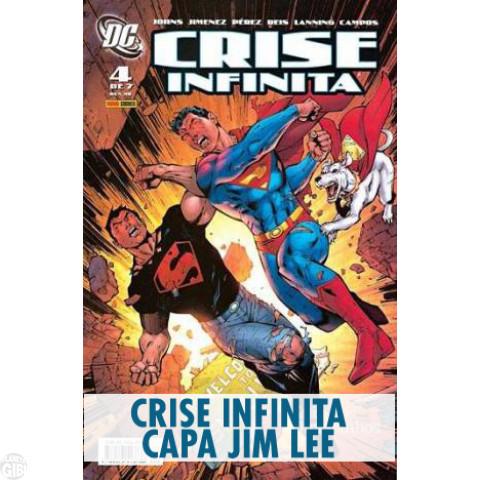 Crise Infinita (Capa Jim Lee) nº 004 mar/2007 (MSADCP) - Vide Detalhes