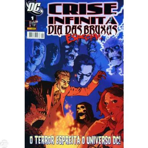 Crise Infinita Especial: Dia das Bruxas - 2008 Vide Detalhes