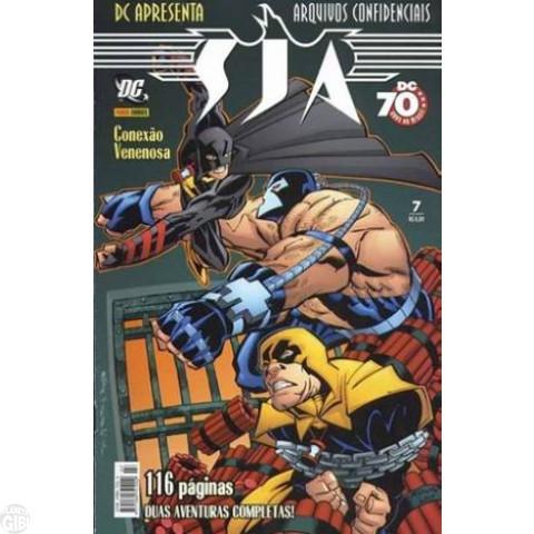 DC Apresenta [Panini - 1ª série] nº 007 jan/2008 - SJA Arquivos Confidenciais: Conexão Venenosa - Vide Detalhes