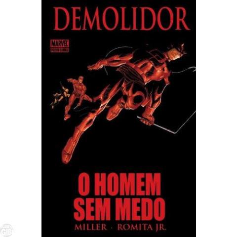 Demolidor O Homem Sem Medo [Panini - 1ª edição]  jul/2009 - Capa Dura