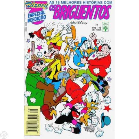 Disney Especial Reedição nº 078 fev/1994 - Os Briguentos