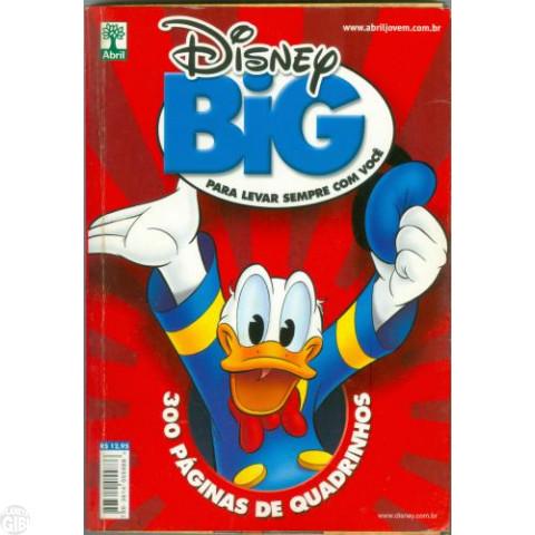 Disney Big nº 001 dez/2008 - Raríssimo!