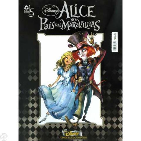 Disney Cinema em Quadrinhos [On Line] nº 002 mai/2010 - Alice no País das Maravilhas [de Tim Burton]
