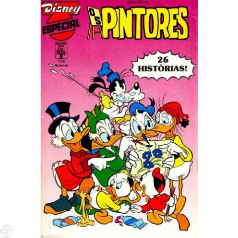 Disney Especial nº 113 mar/1989 - Os Pintores - Vide Detalhes