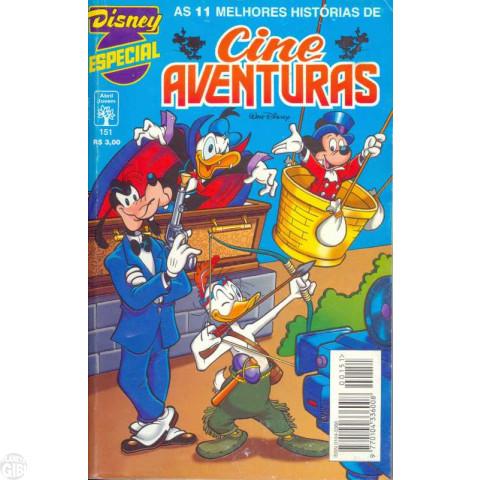 Disney Especial nº 151 set/1995 - Cine Aventuras