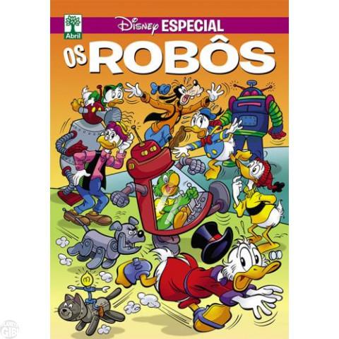 Disney Especial nº 184* abr/2016 - Os Robôs