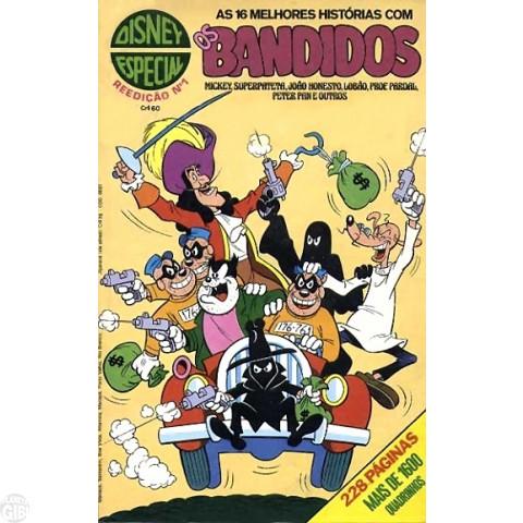 Disney Especial Reedição nº 001 ago/1980 - Os Bandidos