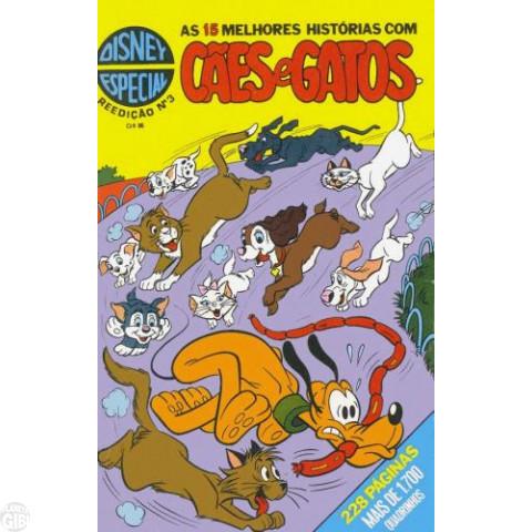 Disney Especial Reedição nº 003 fev/1981 - Cães e Gatos - Vide Detalhes