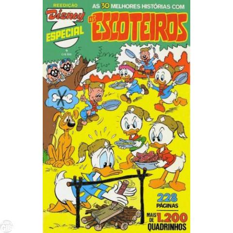 Disney Especial Reedição nº 009 abr/1982 - Os Escoteiros - Vide Detalhes