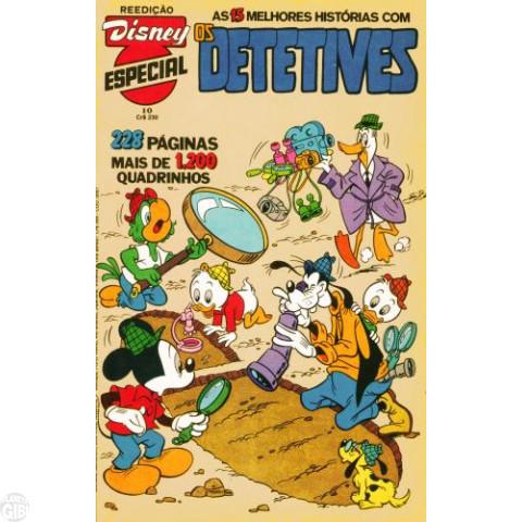 Disney Especial Reedição nº 010 jun/1982 - Os Detetives - Vide Detalhes