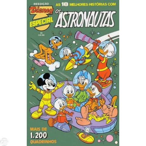 Disney Especial Reedição nº 011 ago/1982 - Os Astronautas - Vide Detalhes