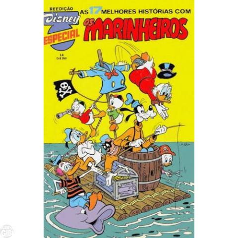 Disney Especial Reedição nº 014 fev/1983 - Os Marinheiros - Vide Detalhes