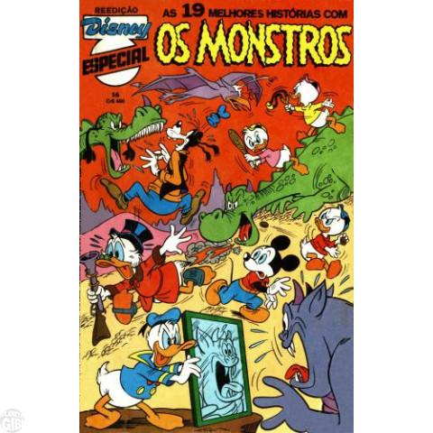 Disney Especial Reedição nº 016 jun/1983 - Os Monstros