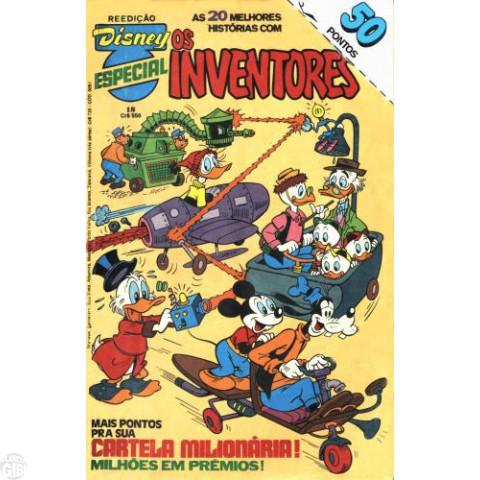 Disney Especial Reedição nº 018 out/1983 - Os Inventores