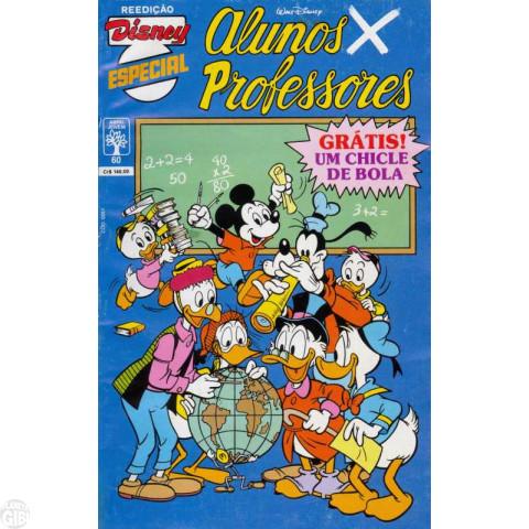Disney Especial Reedição nº 060 out/1990 - Alunos x Professores
