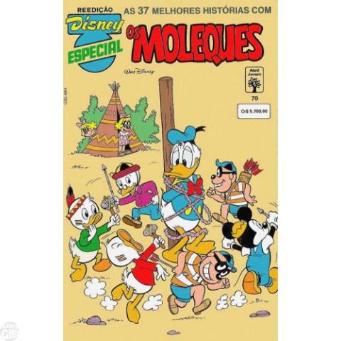 Disney Especial Reedição nº 070 jul/1992 - Os Moleques