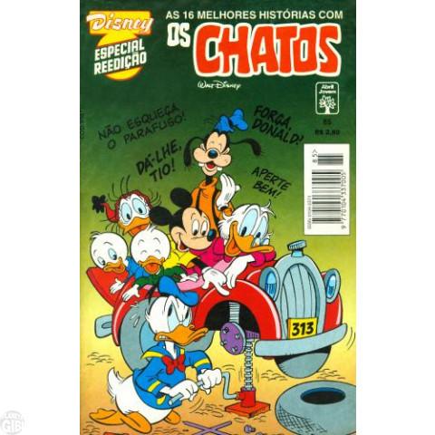 Disney Especial Reedição nº 085 abr/1995 - Os Chatos