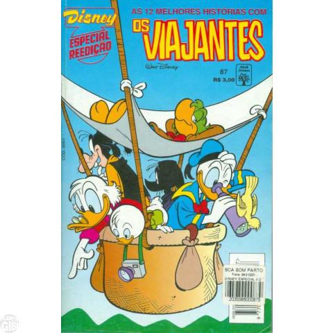 Disney Especial Reedição nº 087 ago/1995 - Os Viajantes