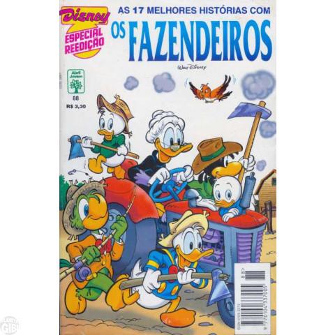 Disney Especial Reedição nº 088 out/1995 - Os Fazendeiros