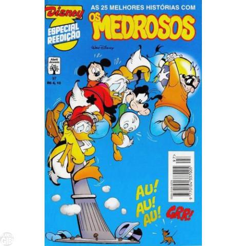 Disney Especial Reedição nº 097 abr/1997 - Os Medrosos