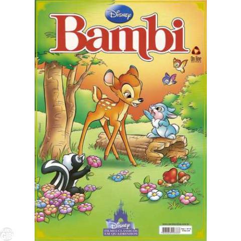 Disney Filmes Clássicos em Quadrinhos [On Line] nº 010 fev/2011 - Bambi (remake)