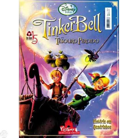 Disney Filmes em Quadrinhos [On Line] nº 006 out/2010 - Tinker Bell e o Tesouro Perdido